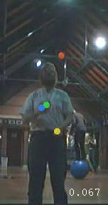 Jochen Voss, Juggling in the Cryfields sports pavillion