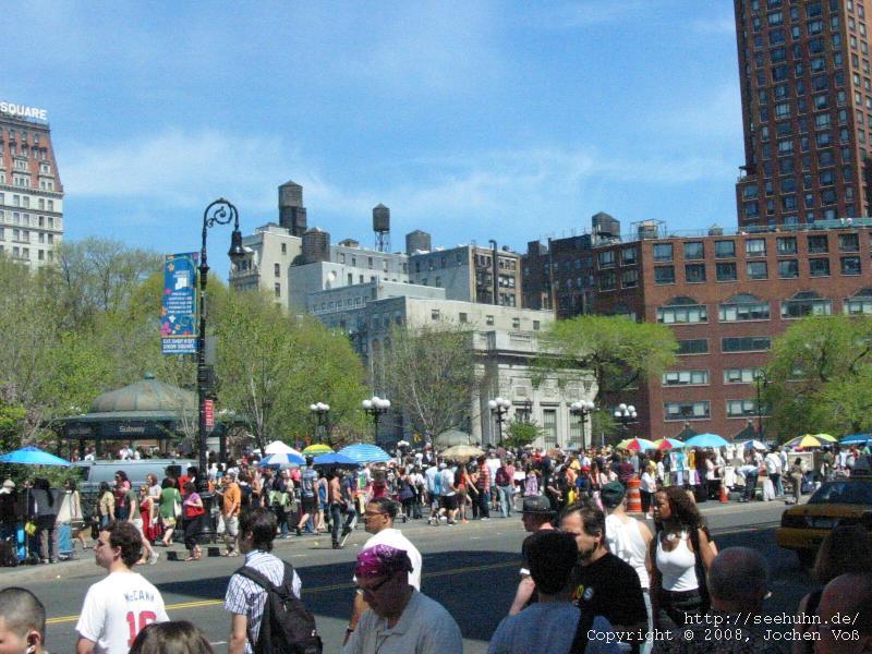 [Union Square, New York]